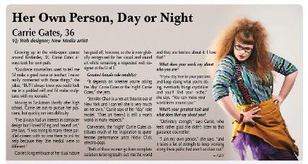 Carrie Gates Interviewed in Flow Magazine
