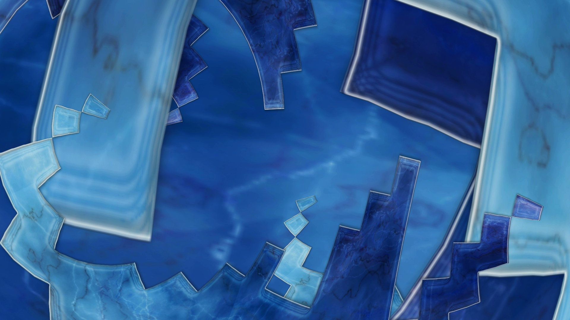 Blue Marble 3D Video Still by Carrie Gates