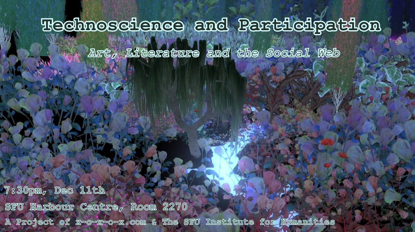 Technoscience and Participation: Art, Literature and the Social Web