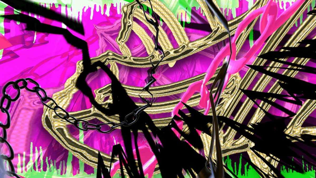 """Ravebling"" Video Still by Carrie Gates"
